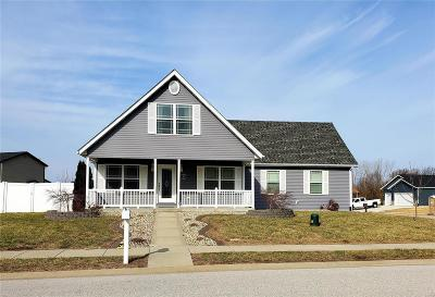 Caseyville Single Family Home Active Under Contract: 813 Jessica Dr