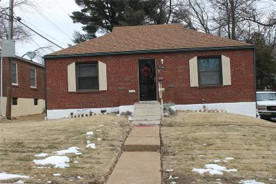 St Louis City County Single Family Home For Sale: 9166 Newby Street