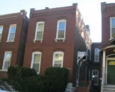 St Louis City County Single Family Home For Auction: 3448 Grace Avenue