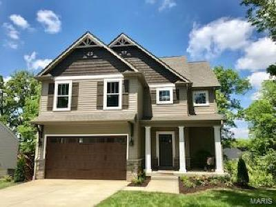 Webster Groves, Kirkwood Single Family Home For Sale: 1227 Grandview Drive