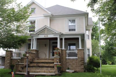 Paris Single Family Home For Sale: 418 Cooper