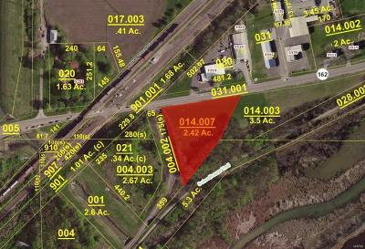 Granite City Commercial For Sale: Il. St. Rt. 162