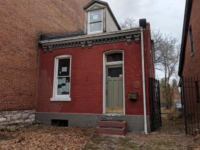 St Louis Single Family Home For Sale: 2219 Cherokee Street