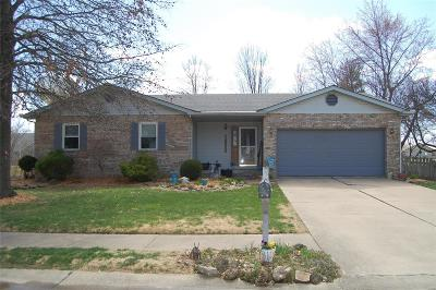 Edwardsville Single Family Home Active Under Contract: 1907 Meadow Lane