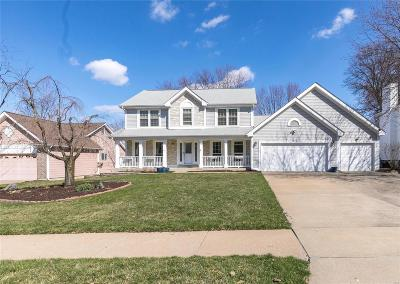 Maryland Heights Single Family Home For Sale: 1816 Pheasant Run Drive
