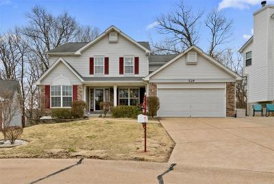 Valley Park Single Family Home Active Under Contract: 529 Emmanuel Court