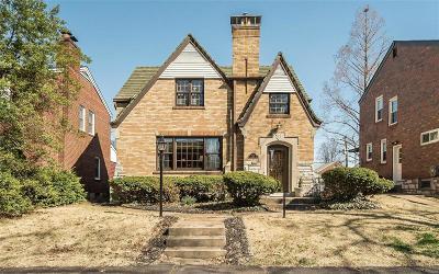 St Louis City County Single Family Home For Sale: 6227 Devonshire Avenue