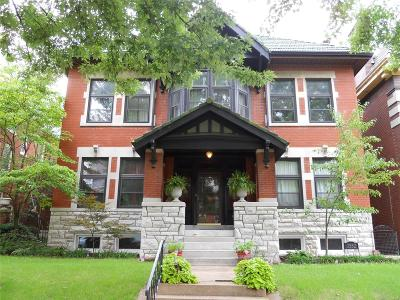 St Louis City County Multi Family Home For Sale: 3552 Halliday Avenue