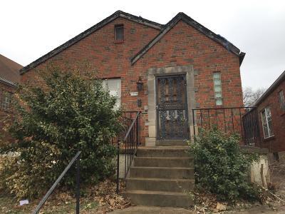 St Louis Single Family Home For Sale: 4616 Penrose Street