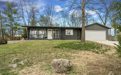 Ballwin Single Family Home Active Under Contract: 807 Rauscher Drive