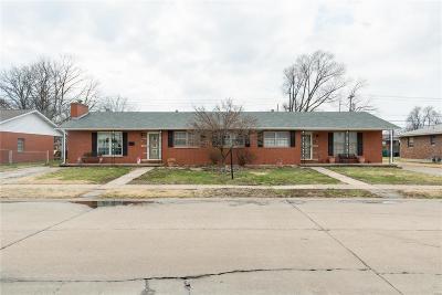 Granite City Multi Family Home For Sale: 3004 Yale Avenue