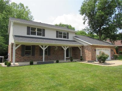 O'fallon Single Family Home For Sale: 1213 Tanglewood