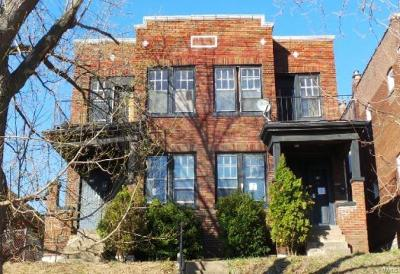 St Louis City County Multi Family Home For Sale: 315 Eichelberger Street