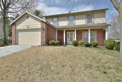 Ballwin Single Family Home For Sale: 527 Lering Court