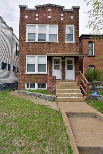 St Louis City County Multi Family Home For Sale: 6729 Vermont Avenue