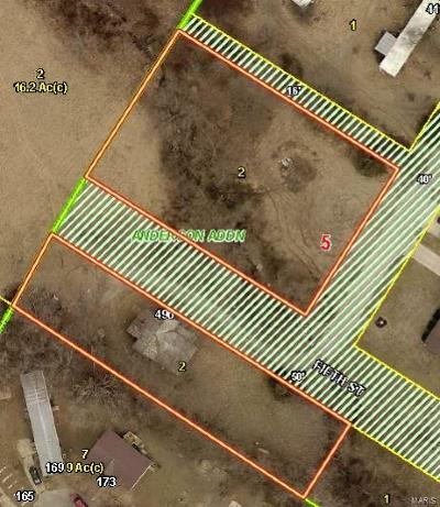 Moscow Mills Residential Lots & Land For Sale: 496 Hill St Street