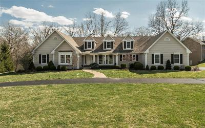 Clarkson Valley Single Family Home Active Under Contract: 16802 Kehrsbrooke Court