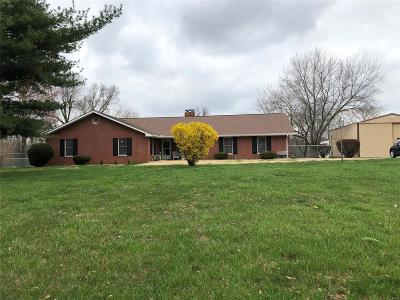 Jefferson County Single Family Home For Sale: 12484 E Il Hwy 148