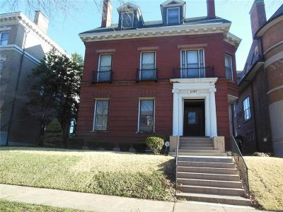 St Louis City County Single Family Home For Sale: 4367 Westminster Place