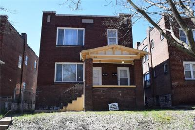 St Louis City County Multi Family Home For Sale: 4842 Kossuth Avenue