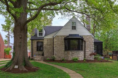 St Louis Single Family Home For Sale: 641 Barstow Place