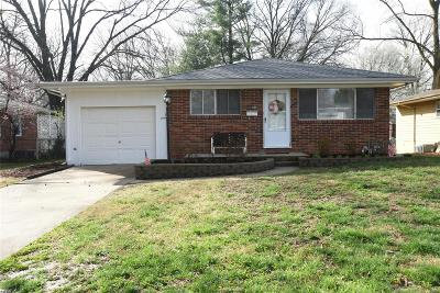 Edwardsville Single Family Home For Sale: 624 Montclaire Avenue