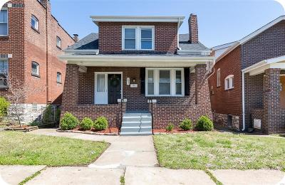 St Louis City County Single Family Home For Sale: 4831 Rhodes Avenue