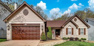 St Louis County Single Family Home For Sale: 765 Legends View