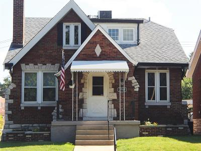 St Louis City County Single Family Home For Sale: 3700 Loughborough Avenue
