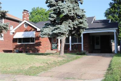 Granite City Single Family Home For Sale: 2527 Edison Avenue