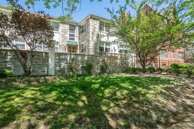 Clayton Condo/Townhouse For Sale: 7569 Buckingham Drive #6
