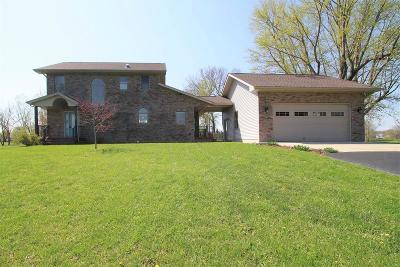 Godfrey Single Family Home For Sale: 7721 Walsh Road