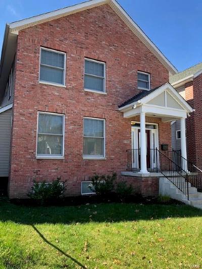St Louis Single Family Home For Sale: 5792 McPherson Avenue
