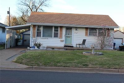 Single Family Home For Sale: 4015 Weber Rd