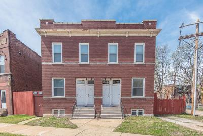 St Louis City County Multi Family Home For Sale: 4745 South Broadway