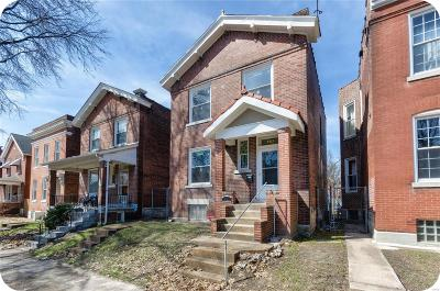St Louis City County Single Family Home For Sale: 3631 Minnesota Avenue