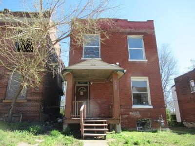 St Louis City County Single Family Home For Sale: 5323 Northland