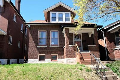 St Louis City County Single Family Home For Sale: 4251 Minnesota Avenue