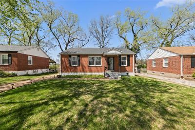 St Louis City County Single Family Home For Sale: 7425 Parkwood