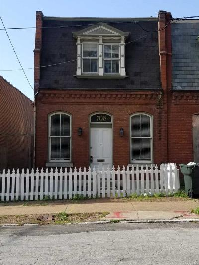 St Louis City County Single Family Home Active Under Contract: 708 Allen Avenue