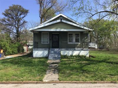 St Louis City County Single Family Home For Sale: 615 Fremont Avenue