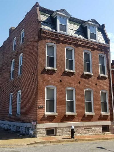 St Louis Single Family Home For Sale: 1229 Allen Market