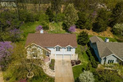 Single Family Home For Sale: 1609 Woodside View Lane