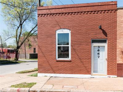 St Louis City County Single Family Home For Sale: 3667 South Broadway