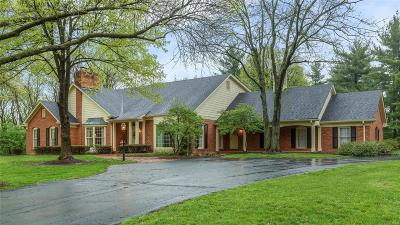 Town and Country Single Family Home Active Under Contract: 1246 Kings Glen Court