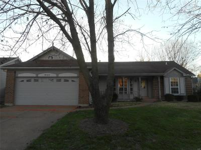 Florissant Single Family Home For Sale: 640 Bugle Run Drive
