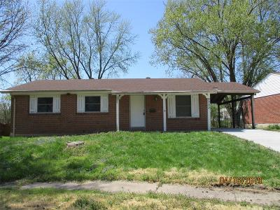 Florissant Single Family Home For Sale: 2322 Lost Hollow
