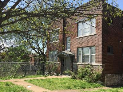 St Louis City County Multi Family Home For Sale: 3545 Oregon Avenue