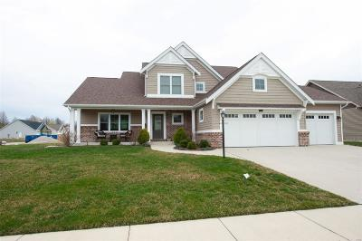 Edwardsville Single Family Home For Sale: 3856 Plymouth Drive