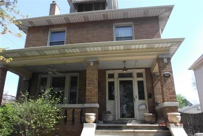 Granite City Single Family Home For Sale: 2164 Cleveland Boulevard